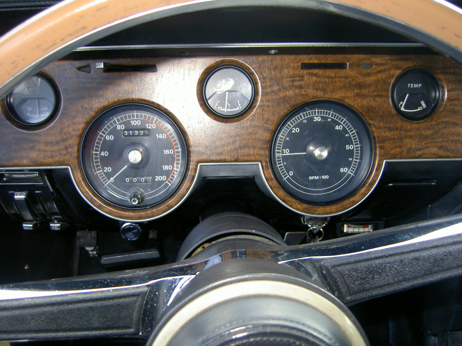 rocketman\u0027s classic cougar innovations68 xr7 tachometer converted for franc harperink
